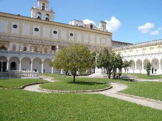 Napoli Chiostro della Certosa di San Martino