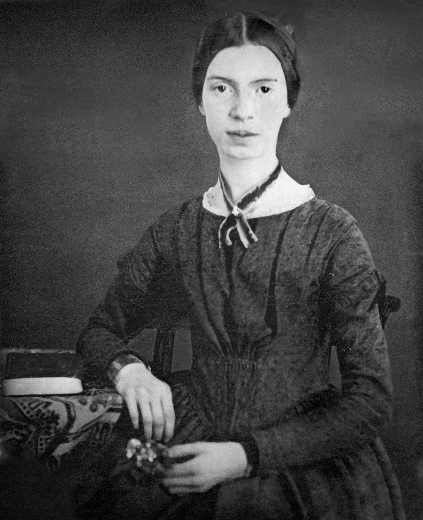 Black-white_photograph_of_Emily_Dickinson_(Restored)