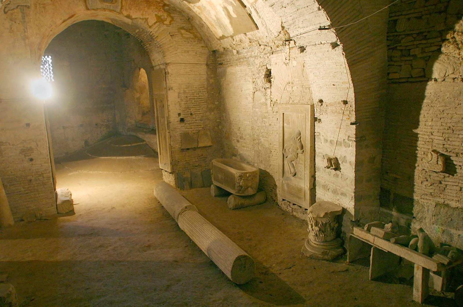 sotterranei della chiesa di san martino ai monti
