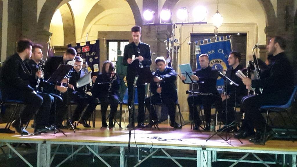 Ensemble di clarinetti del Conservatorio S. Pietro a Majella di Napoli