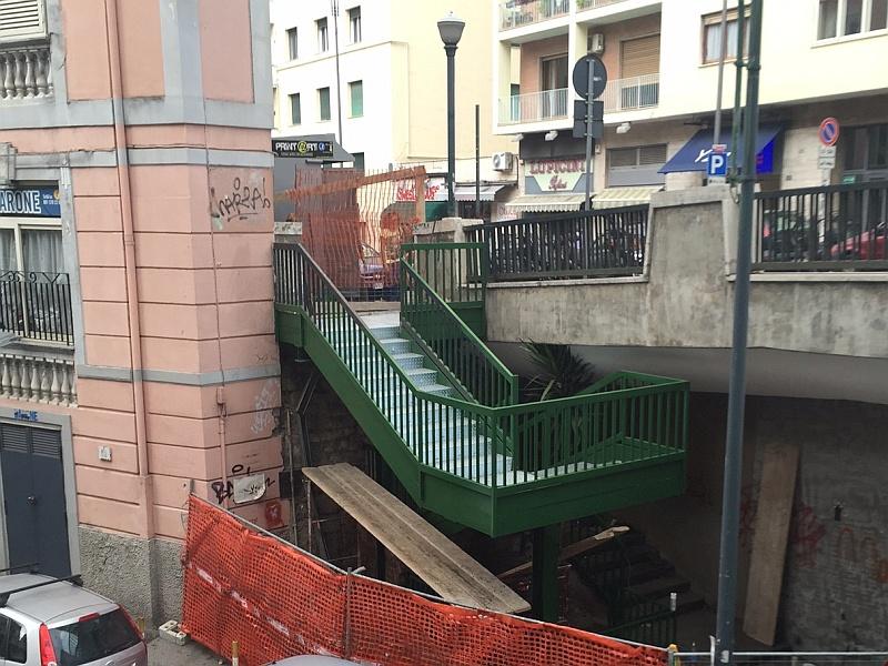 Vomero, scale ponte di via Cilea-3