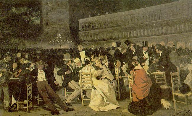 d108-michele-cammarano-la-piazza-san-marco-1869