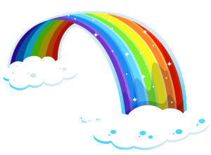 Rainbow_with_Clouds_PNG_Clipart-300x221