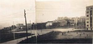 Piazza medaglie d'oro all'inizio degli anni 50