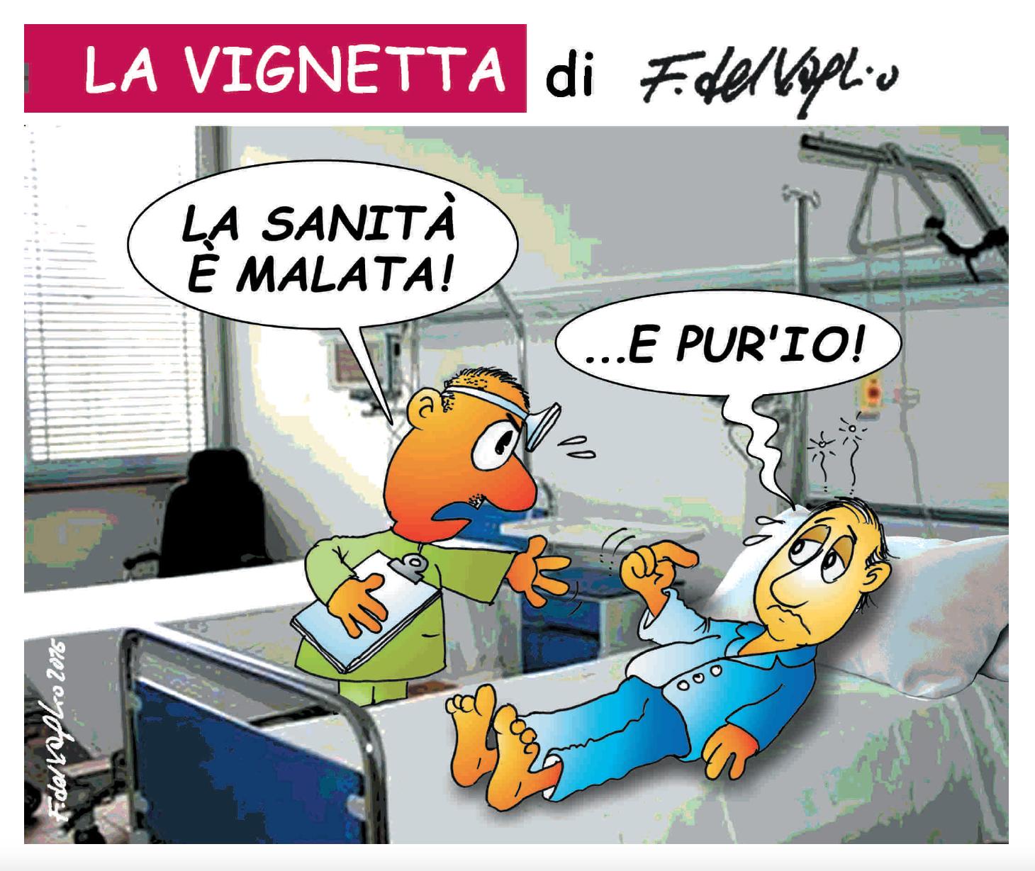 LA VIGNETTA DI FRANCESCO DEL VAGLIO PER VOMERO MAGAZINE