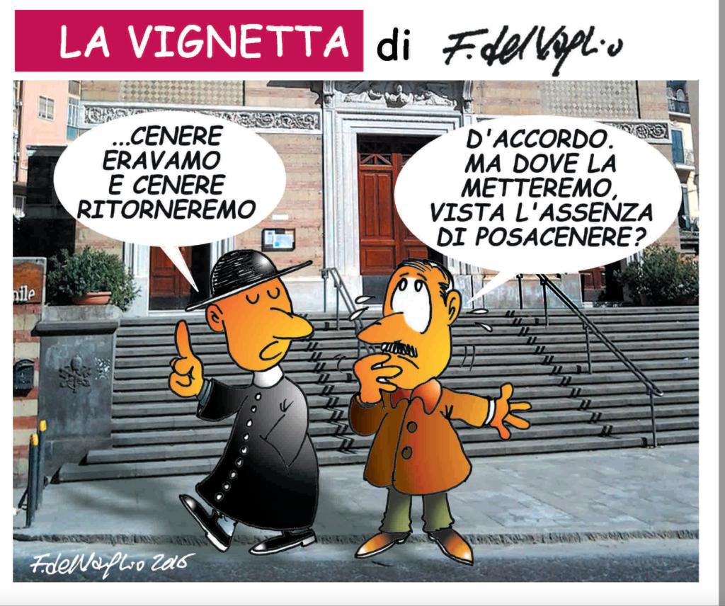 La Vignetta di Del Vaglio per Vomero Magazine