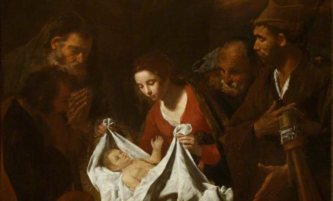 Stanzione, Massimo; The Nativity; National Trust, Hatchlands; http://www.artuk.org/artworks/the-nativity-217234