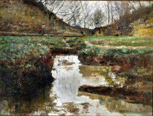 Un insolito Antignano nel dipinto di Attilio Pratella