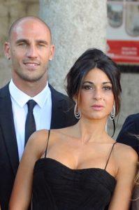 Paolo Cannavaro e la moglie Cristina