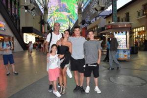 Fabio Cannavaro e la sua famiglia