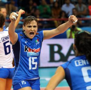 Italy Antonella Del Core celebrates