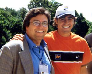 Carlo Verna con Fabio Cannavaro