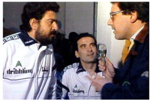 Carlo Verna con Lello Arena e Massimo Troisi