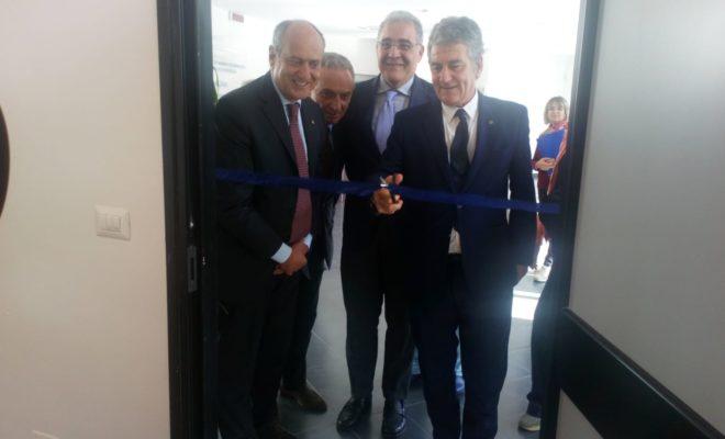 Da dx Domenico Ciruzzi, ALfredo Guardiano, Maurizio Bifulco e Luigi Califano