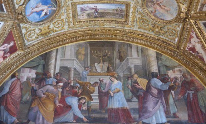 Museo di San Martino-Belisario Corenzio, Cristo e l'adultera