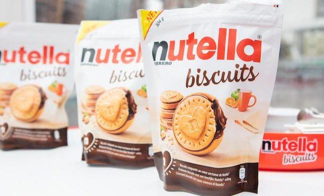 Ferrero lancia i Nutella Biscuits a Casa Nutella in Piazza Gae Aulenti, 24 ottobre 2019. ANSA/CLAUDIA GRECO